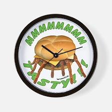 Spider Burger Wall Clock