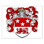 Maas Family Crest Small Poster
