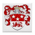 Maas Family Crest Tile Coaster