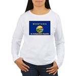 Montana-4 Women's Long Sleeve T-Shirt