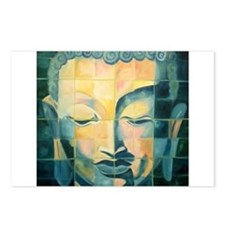Tiled Buddha Postcards (Package of 8)