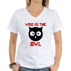 Wise as the Owl Shirt