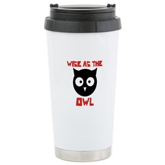 Wise as the Owl Travel Mug