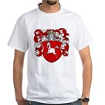 Marcus Family Crest White T-Shirt