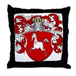 Marcus Family Crest Throw Pillow