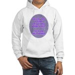 5 Days Without Water Hooded Sweatshirt