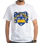 Mertens Family Crest White T-Shirt