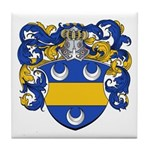Mertens Family Crest Tile Coaster