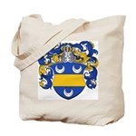Mertens Family Crest Tote Bag