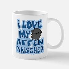 I Love my Affenpinscher Mug