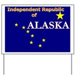 Alaska-4 Yard Sign