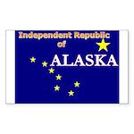 Alaska-4 Rectangle Sticker 50 pk)