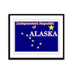 Alaska-4 Framed Panel Print