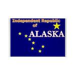 Alaska-4 Rectangle Magnet (100 pack)
