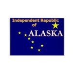Alaska-4 Rectangle Magnet (10 pack)
