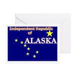 Alaska-4 Greeting Cards (Pk of 10)