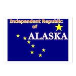 Alaska-4 Postcards (Package of 8)