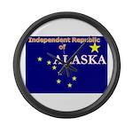Alaska-4 Large Wall Clock