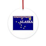 Alaska-4 Ornament (Round)