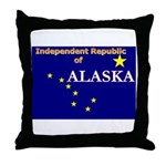 Alaska-4 Throw Pillow