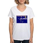 Alaska-4 Women's V-Neck T-Shirt