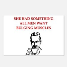 divorce joke for men Postcards (Package of 8)