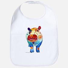 Love A Hippo Bib