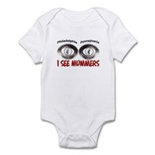 i see mummers 3 Infant Bodysuit
