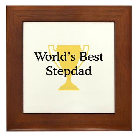 WB Stepdad Framed Tile
