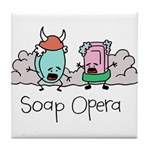 Soap Opera Tile Coaster