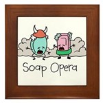 Soap Opera Framed Tile