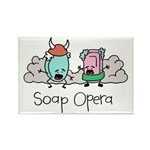Soap Opera Rectangle Magnet