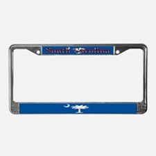 South Carolina State Flag License Plate Frame