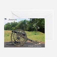 12 Pounder Iron Howitzer Greeting Card