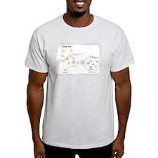 Unique Degrading T-Shirt