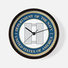 Navy Lieutenant Wall Clock