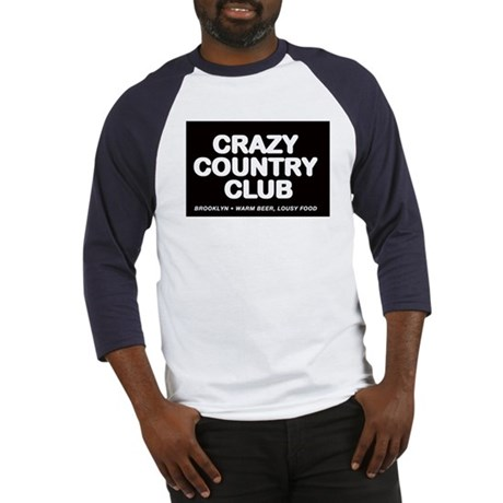 CRAZY COUNTRY CLUB Baseball Jersey
