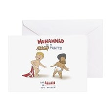 Poopy Muhammad Greeting Card