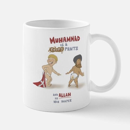 Poopy Muhammad Mug