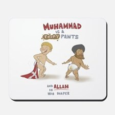 Poopy Muhammad Mousepad