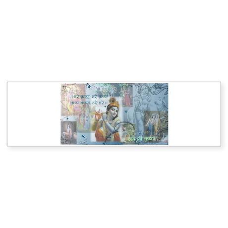 Lord Krishna Bumper Sticker