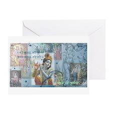 Lord Krishna Greeting Card