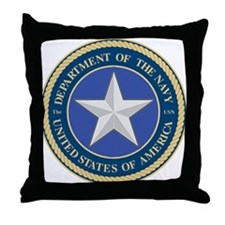 Navy (Commodore) Rear Admiral Throw Pillow