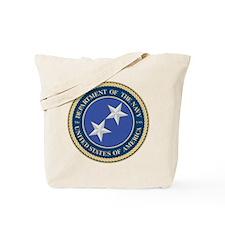 Navy Rear Admiral Upper 1/2 Tote Bag