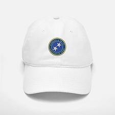 Navy Rear Admiral Upper 1/2 Baseball Baseball Cap