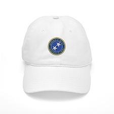 Navy Rear Admiral Upper 1/2 Baseball Cap