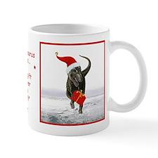 'Santasaurus' Dinosaur Small Mug