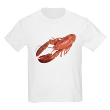 A Lobster on Your Kids T-Shirt