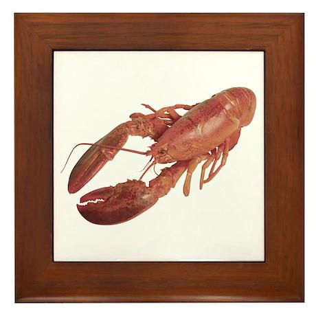 A Lobster on Your Framed Tile