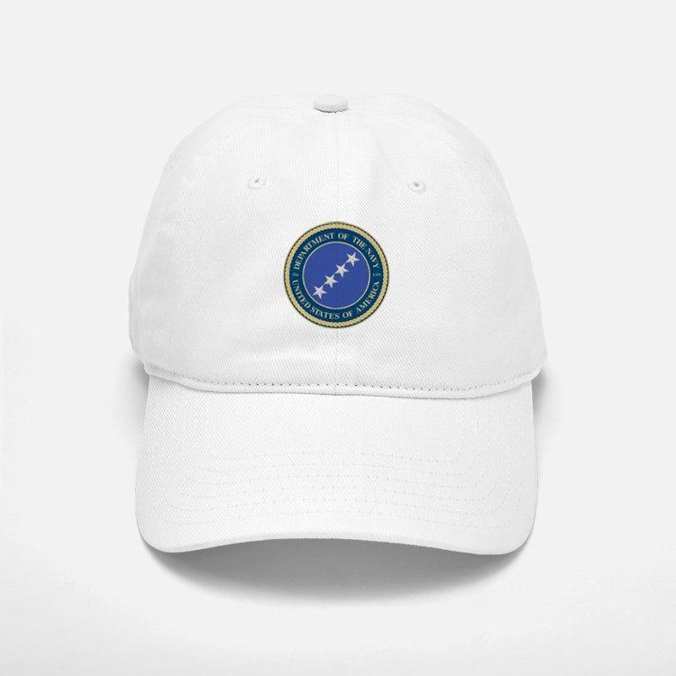 Navy Admiral Baseball Baseball Cap